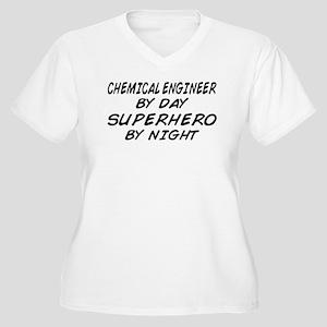 Chemical Engineer Superhero by Night Women's Plus