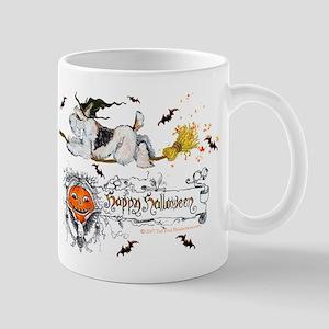Halloween Fox Terrier Mug
