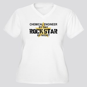 Chemical Engineer Rock Star by Night Women's Plus