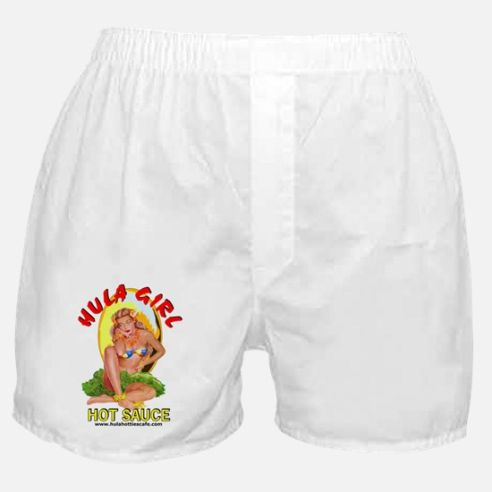 Hula Girl Boxer Shorts