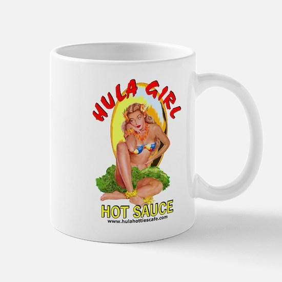 Hula Girl Kona Coffee Espresso Mug