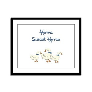 Home Sweet Home Framed Panel Print