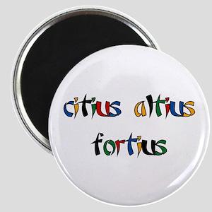 Citius, Altius, Fortius Magnet