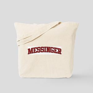 MESSINGER Design Tote Bag