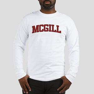 MCGILL Design Long Sleeve T-Shirt