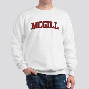 MCGILL Design Sweatshirt