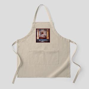 Masonic Temple BBQ apron.