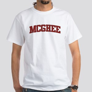 MCGHEE Design White T-Shirt