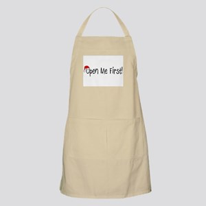 Open Me First BBQ Apron