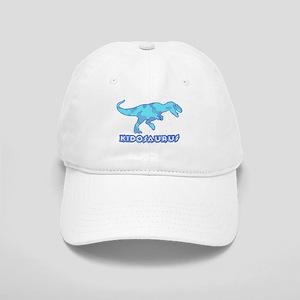 Blue Camo T-Rex Dinosaur Cap