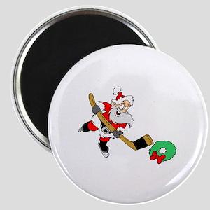 Hockey Santa Magnet