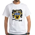 Raynaud Family Crest White T-Shirt