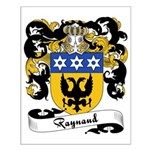 Raynaud Family Crest Small Poster