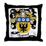Raynaud Family Crest Throw Pillow