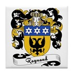 Raynaud Family Crest Tile Coaster