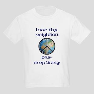 Koy's Logo + Love Pre-emptively Kids T-Shirt