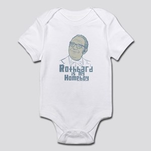 Rothbard Is My Homeboy Infant Bodysuit