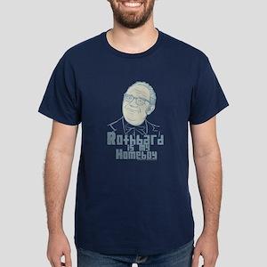 Rothbard Is My Homeboy Dark T-Shirt