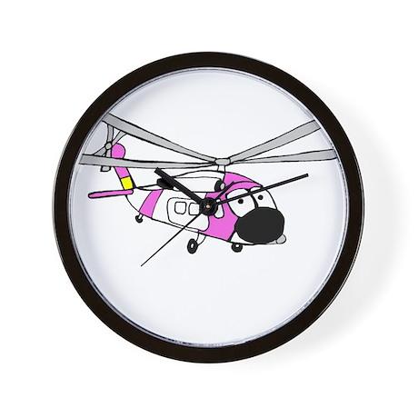 Pink HH-60 Wall Clock