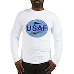 Masonic USAF Oval Long Sleeve T-Shirt
