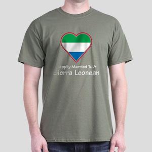 Happily Married Sierra Leonean Dark T-Shirt