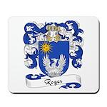Roger Family Crest Mousepad