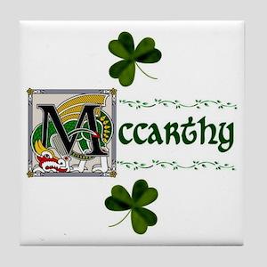 McCarthy Celtic Dragon Ceramic Tile