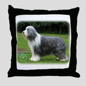 Bearded Collie 8R002D-16 Throw Pillow