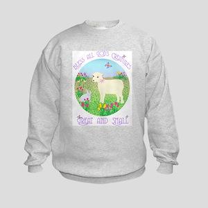 Bless All God's Creatures Kids Sweatshirt