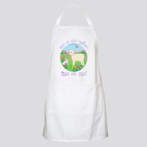 Bless All God's Creatures BBQ Apron