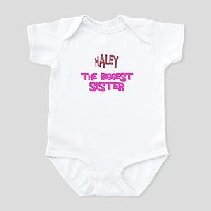 Haley - The Biggest Sister Infant Bodysuit