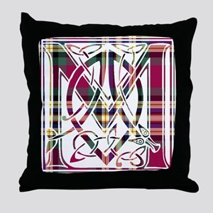 Monogram - MacGill Throw Pillow