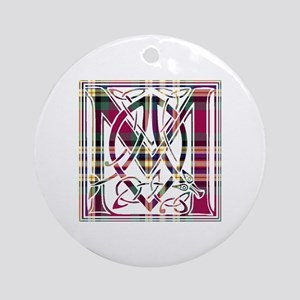 Monogram - MacGill Ornament (Round)
