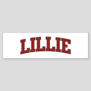 LILLIE Design Bumper Sticker