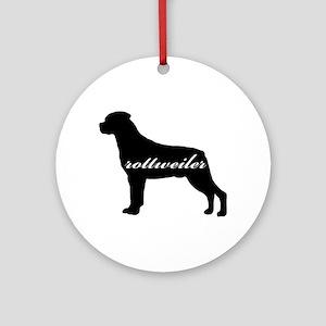 Rottweiler DESIGN Ornament (Round)