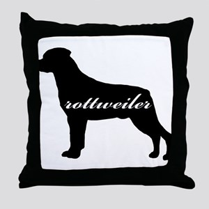 Rottweiler DESIGN Throw Pillow