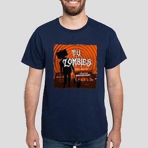 T.V. Zombies Dark T-Shirt