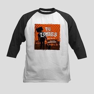 T.V. Zombies Kids Baseball Jersey
