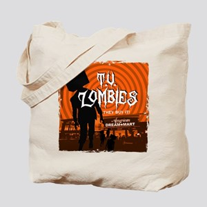 T.V. Zombies Tote Bag