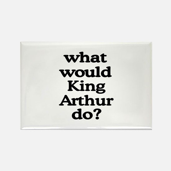 King Arthur Rectangle Magnet