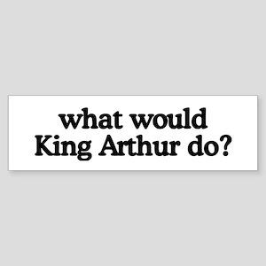 King Arthur Bumper Sticker
