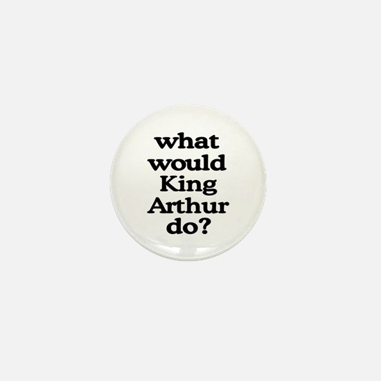 King Arthur Mini Button