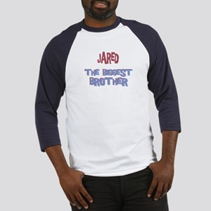 Jared - The Biggest Brother Baseball Jersey