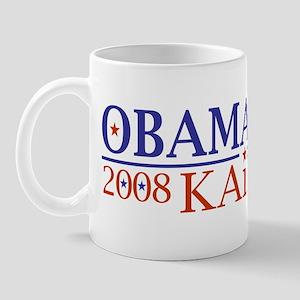 Obama Kaine 08 Mug