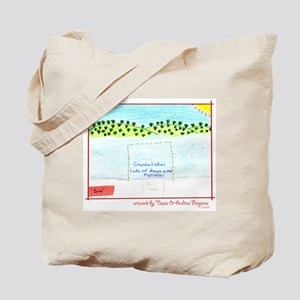 Crandon Lakes Tote Bag, featuring children's art