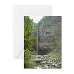 Taughannock Falls NY Greeting Cards (Pk of 10)