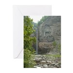 Taughannock Falls NY Greeting Cards (Pk of 10)