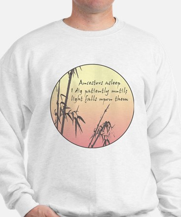 Genealogy Haiku Sweatshirt
