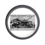 The Jersey Lilly Wall Clock