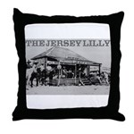 The Jersey Lilly Throw Pillow
